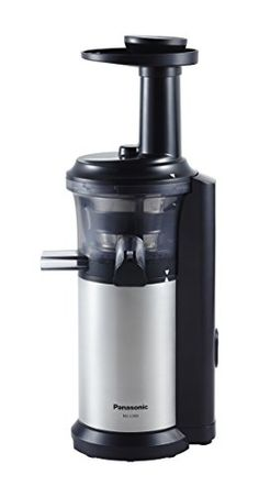Panasonic MJ-L500 Slow Juicer with Frozen Treat Attachment, Black/Silver #deals
