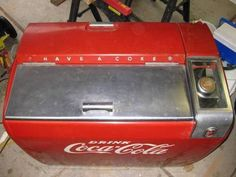 old coke machines for sale cheap | Antique Coke Vending Machine, Model WE-6 for $750 for Sale ...