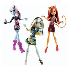 Monster High New Coffin Bean Dolls