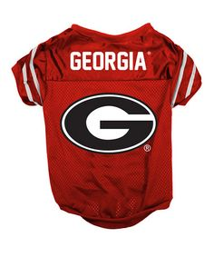 This Georgia Bulldogs Pet Jersey is perfect! #zulilyfinds