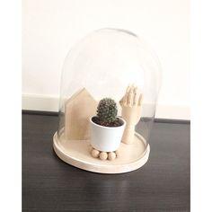 #stolp #houtenhuisje #woonketting #cactus #woodenhand