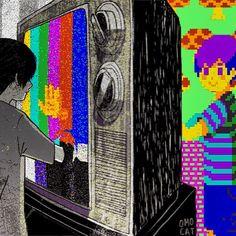 #Psychedelic #trippy #acid #artpic #trip #ganja #cannabis #marijuana #420 #child #dreamcatcher #colorful #mushrooms