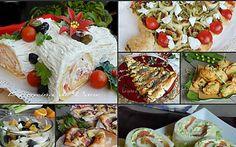 Antipasti di Natale facili e gustosi per tutti i gusti anche da preparare prima Xmas Food, Antipasto, Wine Recipes, Finger Foods, Camembert Cheese, Potato Salad, Buffet, Sushi, Picnic