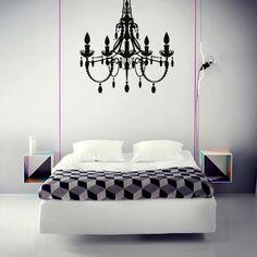 Chandelier – Black from Divine Deco-Decals - R199 (Save 53%)