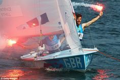 Luke Patience and Stuart Blithell - Silver, Men's 470 Sailing