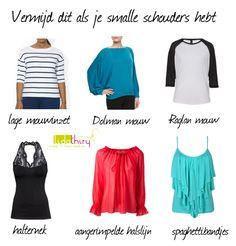 Dit kun je beter vermijden als je smalle schouders hebt |www.lidathiry.nl |
