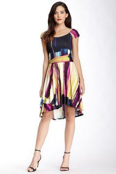 Krista Printed Hi-Lo Dress by Weston Wear on @HauteLook