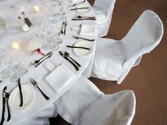 Place setting at Stoneleigh Abbey in Kenilworth, one of Warwickshire's lovliest wedding venues.