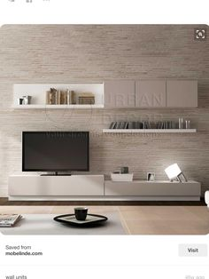 Trendy Bedroom Ideas For Small Rooms Ikea Couch 60 Ideas Living Room Tv, Home And Living, Living Spaces, Tv Furniture, Furniture Design, Muebles Living, Living Room Designs, Family Room, New Homes