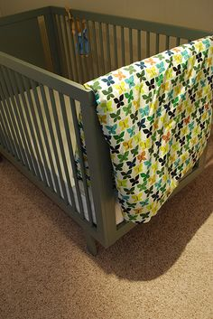 Duvet covers for nursery quilts, change to holiday prints?