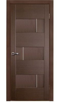 """Dominika"" Wenge Oak Modern Interior Door"