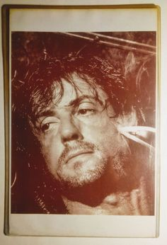 Rambo First Blood Part 2 Publicity Still on Mercari Stallone Movies, John Rambo, First Blood, Sylvester Stallone, Knives, Legends, Military, Actors, Architecture