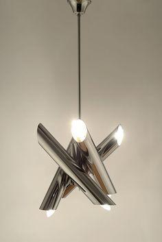 3D Metal Candlestick Wall Mounted Candle Holder Geometric Tea Light Home D DBJ