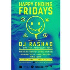 #rvca presents DJ RASHAD at #fortunesound on feb 1st!