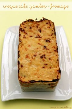 Weight watcher meals 560064903655385194 - Croque cake jambon – fromage façon Weight Watchers la tranche Source by claraoloughlin Plats Weight Watchers, Weight Watchers Snacks, Weight Watchers Breakfast, Paninis, Ww Recipes, Low Carb Recipes, Fast Recipes, Weight Watchers Program, Vegan Bar
