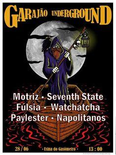 ROCKSBLOG: Garajão Underground: reunirá bandas independentes ...