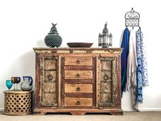wide x high x deep. A fantastic rustic sideboard made from reclaimed teak with wonderful old solid timber doors. No MDF or chipboard in this baby! Handcrafted in India. Free delivery in Rotorua Category: Furniture Rustic Sideboard, Timber Door, Chipboard, Teak, Chrome, New Homes, Free Delivery, India, Doors