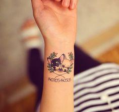 Of The Best Chihuahua Tattoo Ideas Ever Trendy Tattoos, Love Tattoos, Body Art Tattoos, Print Tattoos, Tattoos For Women, Tatoos, Chihuahua Tattoo, Dachshund Tattoo, Small Dog Tattoos