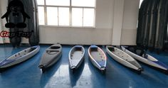 A commercial grade inflatable kayak designed specifically for ocean use.The self bailing floor allows water to escape through the bottom makes the kayak ideal for use on ocean, rivers, bays and streams. Inflatable Fishing Kayak, Inflatable Boat, Kayak Fishing, Kayak Covers, Ocean Kayak, Whitewater Kayaking, Tandem, Rafting, Surfboard