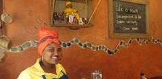 The Village Cafe in Swakopmund is a local gathering place. People, People Illustration, Folk