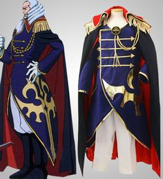 The Best Anime Code Geass Cosplay Clothing-code Geass Cosplay Schneizel El Britannia Cosplay Costume Mens Party Costume Free Shipping Beautiful In Colour Anime Costumes
