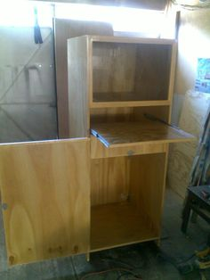 Mueble para computadora muebles pinterest for Mueble para cpu
