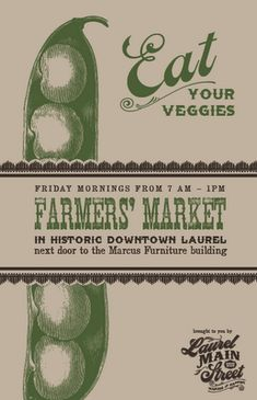 Just in case I ever have a farmer's market...