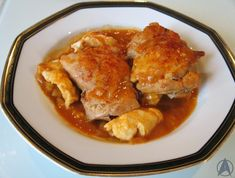 Star Trek: Chicken Paprikash, as cooked by Benjamin Sisko when he was in a particularly good mood (Deep Space Nine: Family Business: s3ep23)