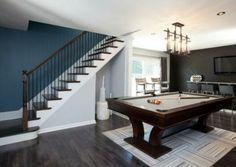 Grey/brown floor ! & A Palette Guide To Basement Paint Colors | Pinterest | Basement ...