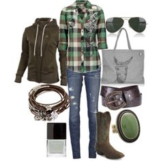 Country Chic - Polyvore