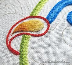 Viewing Embroidery – The Angle of Viewing - NeedlenThread.com» Mary Corbet's Needle 'N Thread