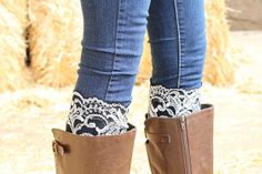 Black and White Boot Lace Adult by RuralHaze on Etsy, $9.99