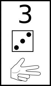 Learn To Count 04 Clipart Preschool Charts, Numbers Preschool, Math Numbers, Preschool Math, Kindergarten Math, Kids Math Worksheets, Preschool Activities, Math For Kids, Fun Math