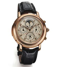 How Much Is Your Watch Worth? Email us at clientadvisory@antiquorum.com or call (212) 750 -1103 and find out today! (Image: Audemars Piguet Jules Audemars Grande Complication sold in December at Antiquorum for $195,750)