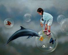 pinturas al oleo, pinturas realistas, pinturas surrealistas, arte figurativo
