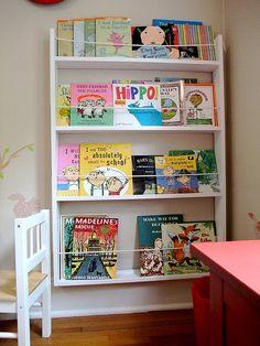 Need a wall bookshelf like this.