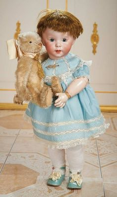 Cotillion - The Susan Whittaker Collection : 184 French Bisque Character, 247, by SFBJ with Original Toddler Body