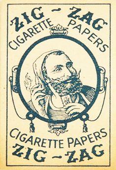 Vintage Zig Zag Pappers weed