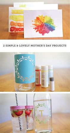 These DIY Mother's Day gift ideas are so cheerful. And easy too!