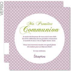 Faire part 1ere communion fille a imprimer gratuitement free printables pinterest faire - Image religieuse gratuite a imprimer ...