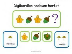 Leuke en informatieve powerpoint digibord lessen voor groep 1/2, deze en nog vele andere kun je downloaden op de website van Juf Milou. Autumn Crafts, Autumn Activities, School Ideas, Pdf, Website, Image, Fall, Sheet Music, Fall Arts And Crafts