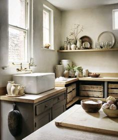 ultra rustic kitchen