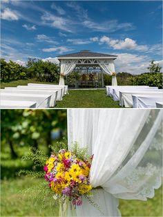 Dārza kāzu ideja :)