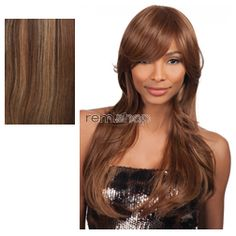 Vivica Fox Pure Stretch Cap Bianca - Color P4/27/30 - Synthetic (Curling Iron Safe) Regular Wig