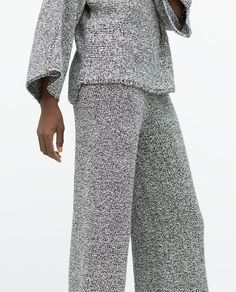 Image 3 of WIDE PRINTED CULOTTES from Zara