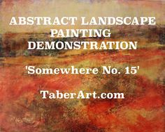 Contemporary artist, Michele Taber, demonstrates her process from conception to completion using nontraditional tools and materials.