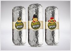 Burrito Madre on Packaging of the World - Creative Package Design Gallery