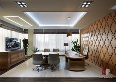 Leading 30 Stunning Home Office Style Small Office Design, Office Table Design, Office Interior Design, Workspace Design, Corporate Interiors, Office Interiors, Home Office Furniture, Home Office Decor, Open Concept Office