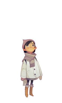 Winter Kid by *joy-ang on deviantART