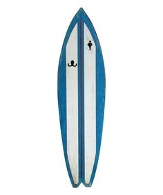 Look what I found on #zulily! Surf Board Hook Wall Art #zulilyfinds